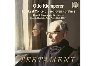 Otto Klemperer, New Philharmonia Orchestra - The Last Concert 26.09.1971 - (CD)