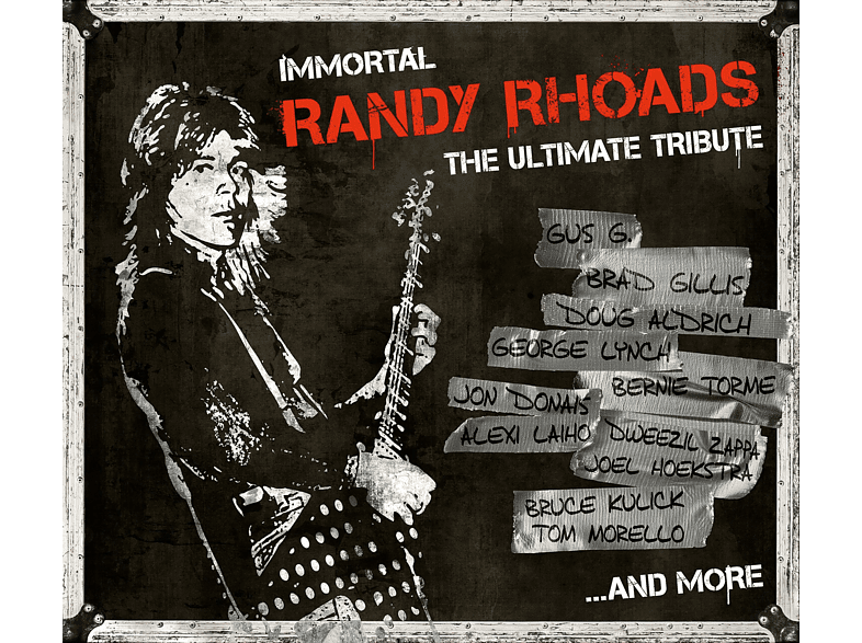 Randy Rhoads - Immortal Randy Rhoads-Ultimate Tribute [CD]