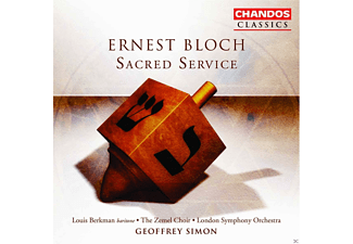 Berkman Louis, Jennifer Higgins, Catherine Rogers, Jacqueline Bransom-Jones, Graham Godfrey, Richard Stuart, London Symphony Orchestra, Zemel Choir - Ernest Bloch: Sacred Service - (CD)