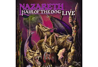Nazareth - HAIR OF THE DOG LIVE - (CD)