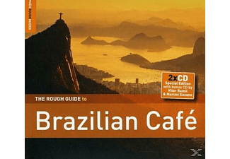 VARIOUS - Rough Guide: Brazilian Cafe - Special Edition - (CD + Bonus-CD)