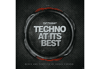 Presented By Sasha Carassi - Techno At Its Best - (CD)