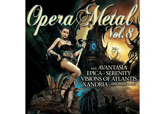 VARIOUS - Opera Metal Vol.8 - (CD)