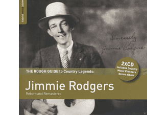 Jimmie Rodgers, VARIOUS - Rough Guide To Country Legends - (CD + Bonus-CD)