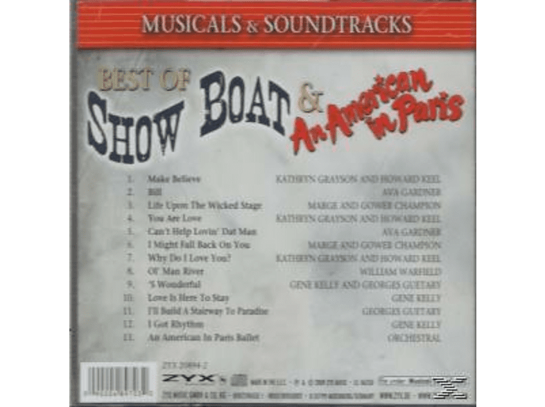 VARIOUS - Best Of Show Boat/An America [CD]