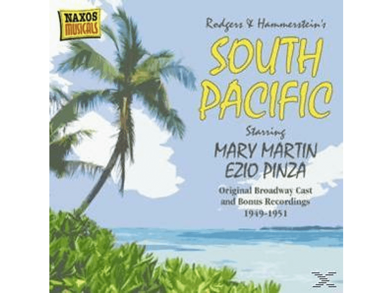 Martin/Pinza/Hall/Tabbert/Luna - South Pacific [CD]
