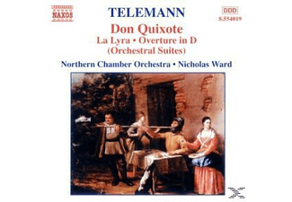 VARIOUS, Nicholas Northern Chamber Orchestra & Ward - Don Quixote/La Lyra/Ouvertüre - (CD)