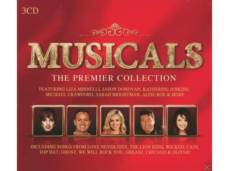 VARIOUS - Musicals - The Premier Collection [CD]