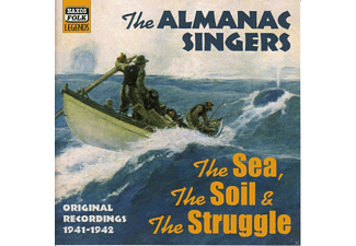 The Almanac Singers - The Sea,The Soil  & The Struggle - (CD)