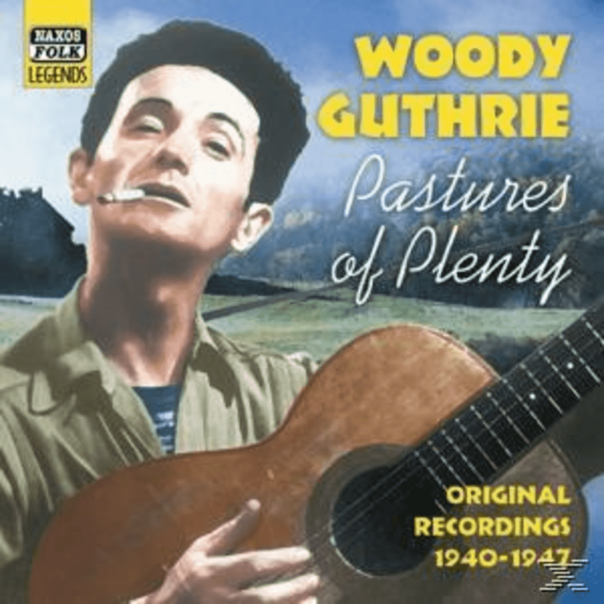 Pastures Of Plenty Woody Guthrie auf CD