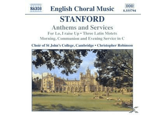 Rob, Robinson/Choir Of ST John's College - Anthems And Services - (CD)