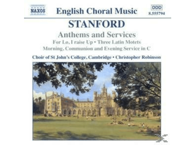 Rob, Robinson/Choir Of ST John's College - Anthems And Services [CD]