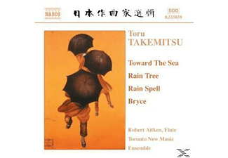Toru Takemitsu, Aitken/Toronto New Music Ensem - Toward The Sea/Rain Tree/+ - (CD)