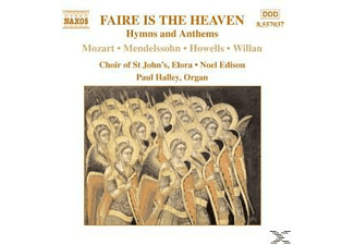 CHOIR OF ST. JOHN S ELORA, Noel Edison, Paul Halley, Edison/Choir Of St.John's - Faire Is The Heaven - (CD)