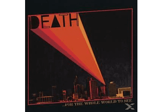 Death - For The Whole World To See - (CD)