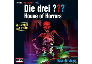Die drei ??? Spezial: House of Horrors - 2 CD - Kinder/Jugend