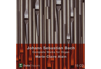 Marie-Claire Alain - Complete Works For Organ - (CD)
