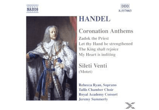 Tallis Chamber Choir & Royal Academ, Summerly/Tallis Chamber Choir/ - Coronation Anthems/Silete Vent - (CD)