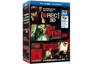 Horror-Box: [Rec], Day of the Dead, Running Scared - (3D Blu-ray (+2D))