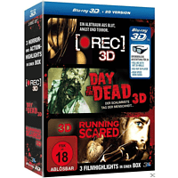 Horror-Box: [Rec], Day of the Dead, Running Scared [3D Blu-ray (+2D)]