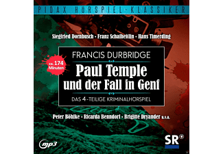 Francis Durbridge: Paul Temple - 1 MP3-CD - Krimi/Thriller