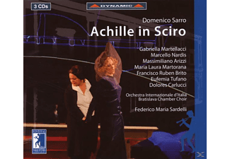 Marteliacci - Achille in Sciro - (CD)