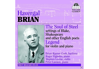 Stephen Levine, Roger Vignoles, Brian Rayner Cook, Lawson Peter - Brian Songs - (CD)