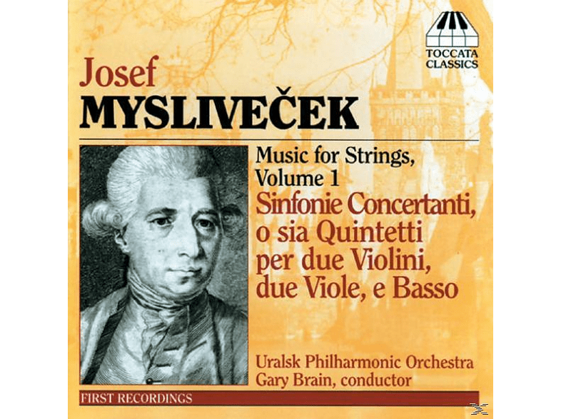 Strings Of The Uralsk Philharmonic Orchestra - Myslivecek Sinfonie Conc.Op.2 [CD]