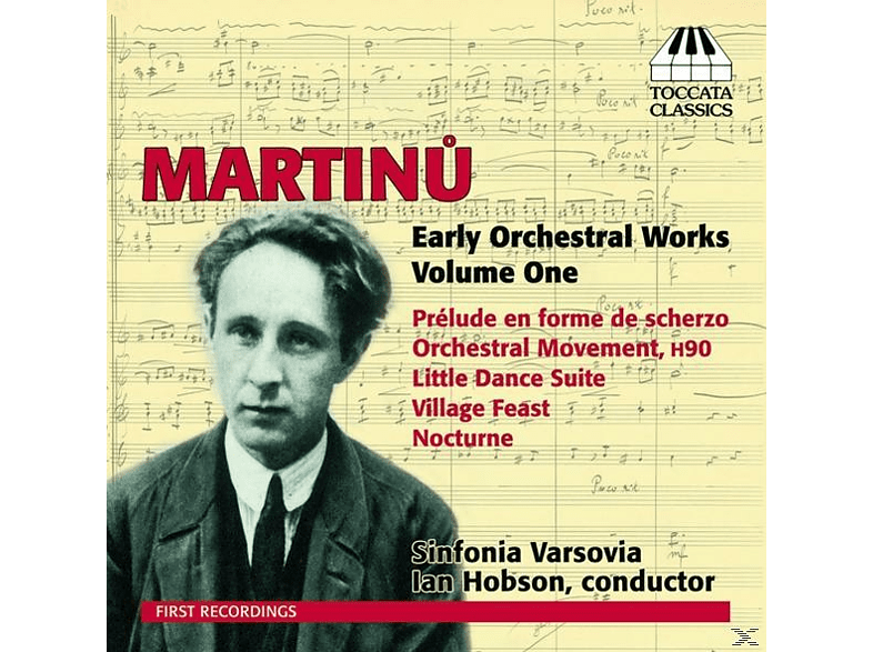 Ian Hobson, The Sinfonia Varsovia - V 1: Early Orchestral Works [CD]