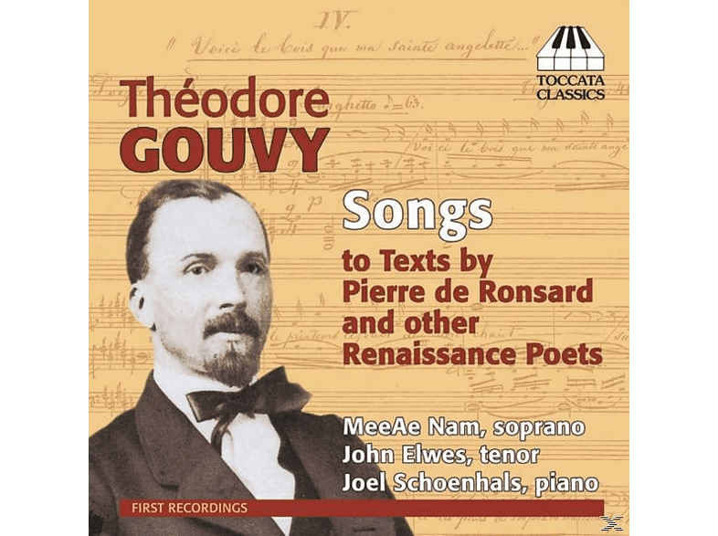Nam/Elwes/Schoenhals - Songs to Texts by Renaissance Poets [CD]