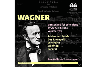Juan Guillermo Vizcarra - Wagner transcibed for solo piano - (CD)