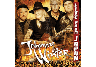 Johnny Winter - Live From Japan - (CD)