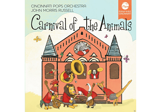 Cincinnati Pops Orchestra;John Morris Russell - Carnival of the Animals - (CD)