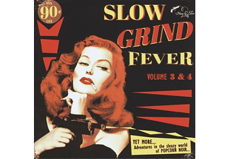 VARIOUS - Slow Grind Fever 3+4 - (CD)