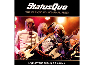 Status Quo - The Frantic Four's Final Fling - Live at the Dublin O2 Arena (CD + DVD)