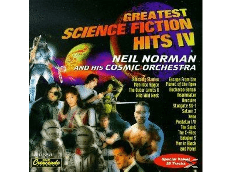 Neil & His Orchestra Norman - Greatest Sci-Fi Hits Vol.4 [CD]