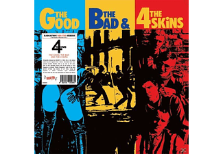 The 4-skins - The Good, The Bad & The 4 Skins - (Vinyl)