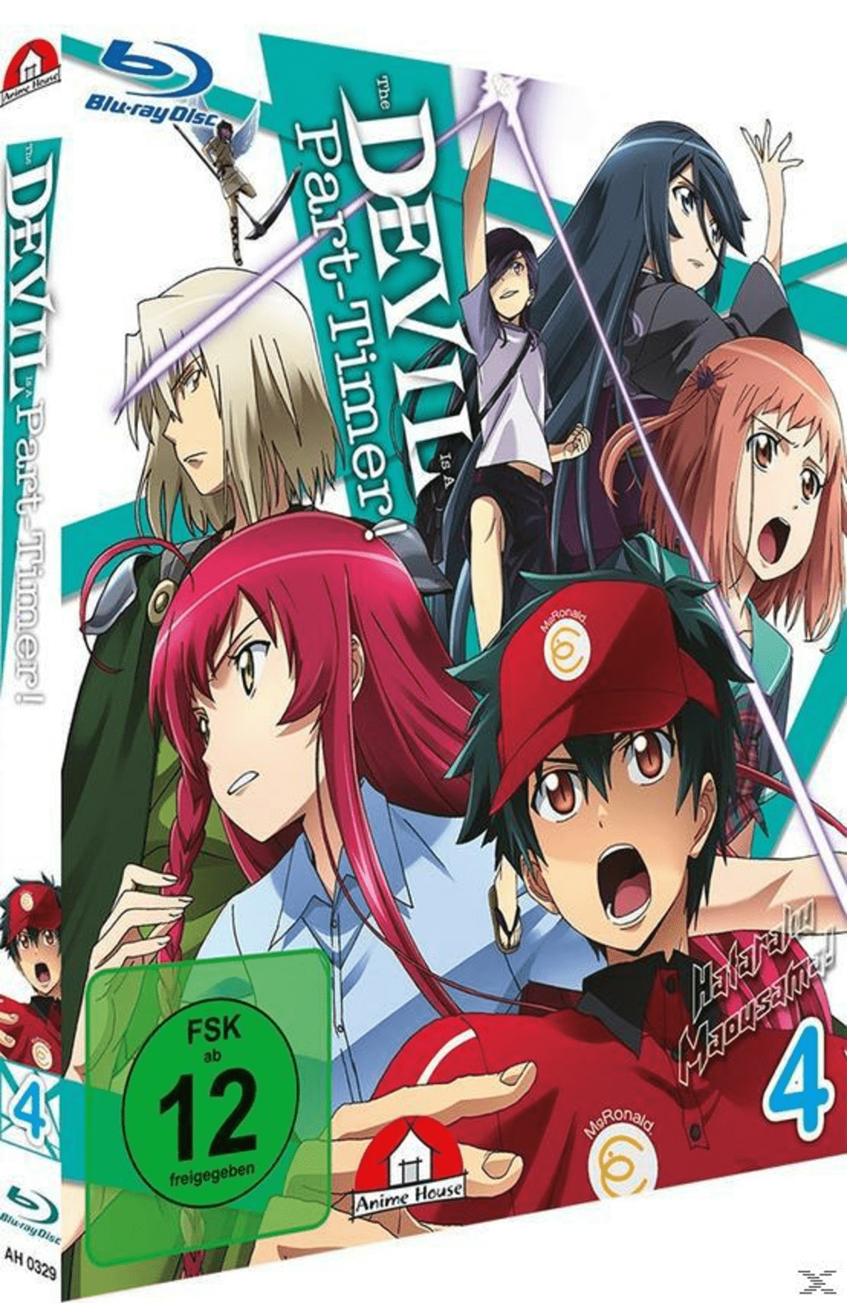 The Devil is a Part-Timer - Vol. 4 - (Blu-ray)