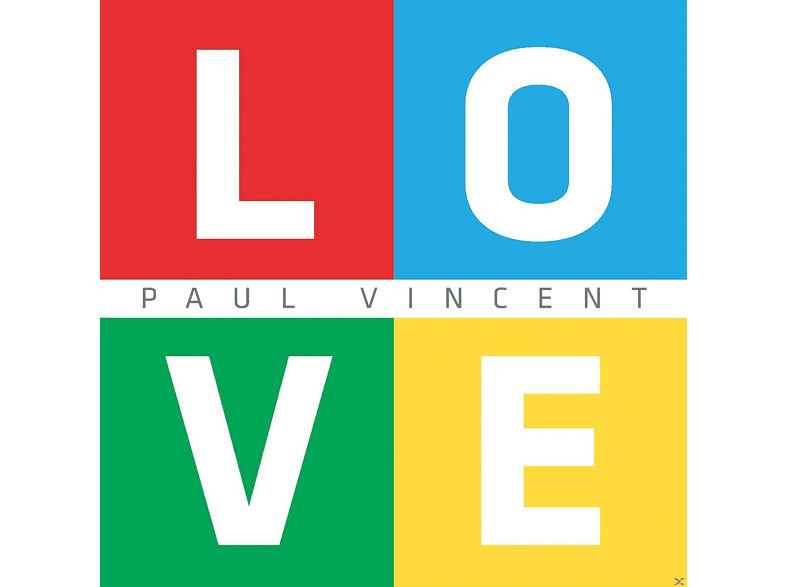 Paul Vincent - L.O.V.E. [CD]