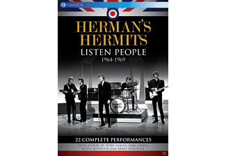 Herman's Hermits - Listen People 1964-1969 - (DVD)