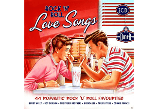 VARIOUS - Rock 'n' Roll Love Songs [CD]