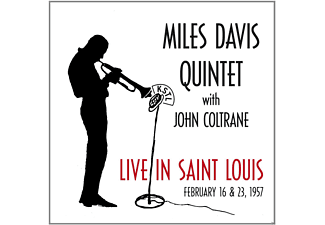 John Coltrane, Miles - Quintet Davis - Live In Saint Louis 16.02.& 23.02.1957 - (CD)