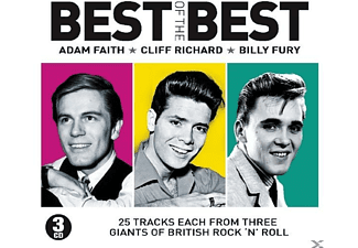 Adam Faith, Cliff Richard, Billy Fury - Best Of The Best - (CD)