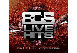 VARIOUS - 80's Live Hits - (CD)