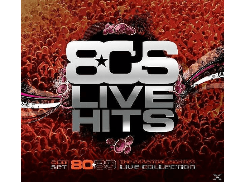 VARIOUS - 80's Live Hits [CD]
