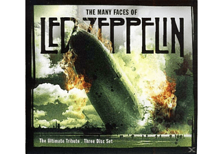 VARIOUS - The Many Faces Of Led Zeppelin - Ultimate Tribute - (CD)