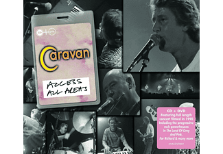 Caravan - Access All Areas [CD]