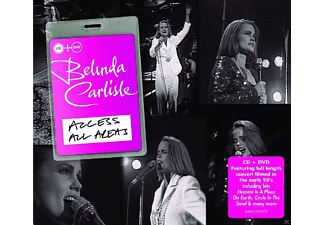 Belinda Carlisle - Access All Areas - (CD + DVD)