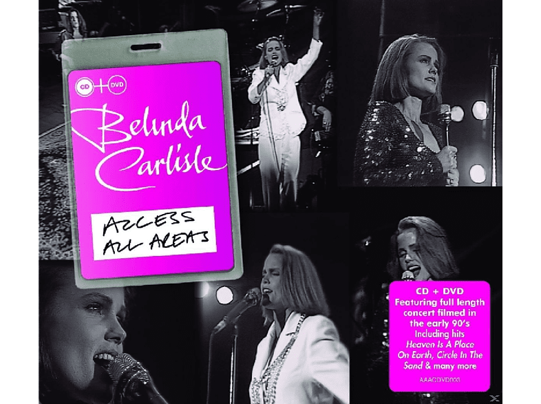 Belinda Carlisle - Access All Areas [CD + DVD]