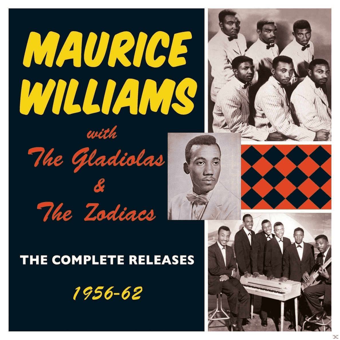 The Complete Releases 1956-62 Maurice Williams, The Gladiolas, Zodiacs auf CD